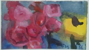 Klaus Fussmann - Phlox Rudbeckia - Galerie + Einrahmungen Paul Sties